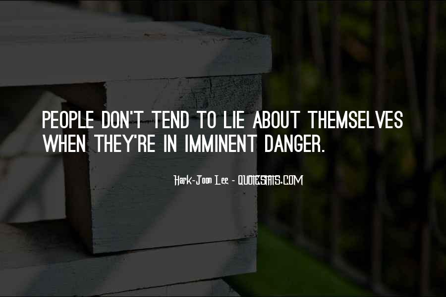 Hark-Joon Lee Quotes #1782031