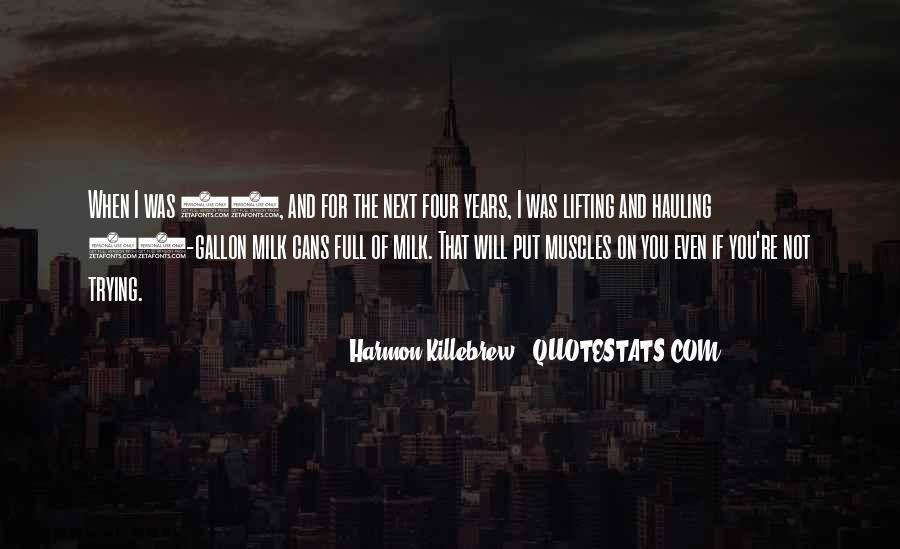 Harmon Killebrew Quotes #160478