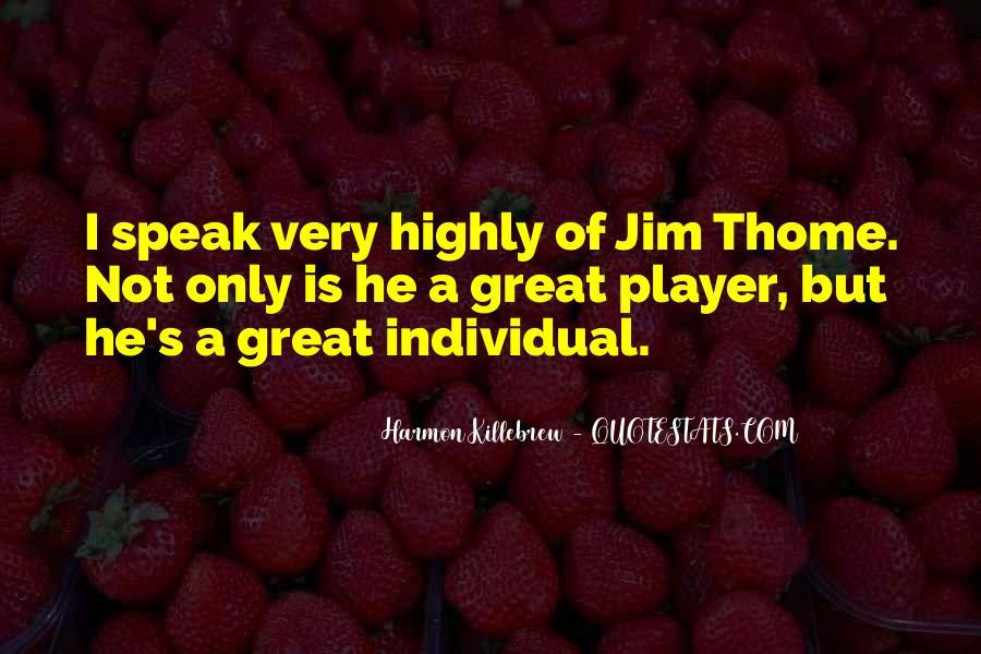 Harmon Killebrew Quotes #297217