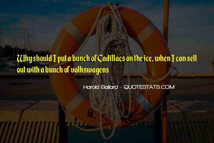 Harold Ballard Quotes #221915