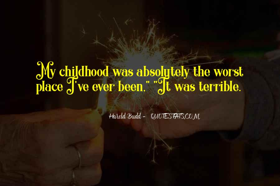 Harold Budd Quotes #1035837