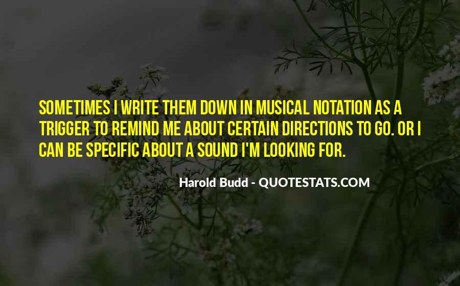 Harold Budd Quotes #883161