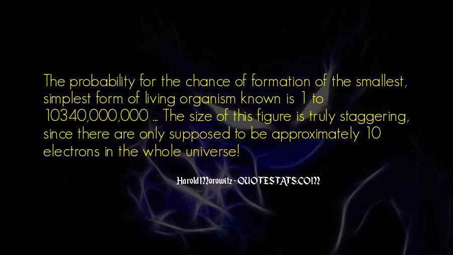 Harold Morowitz Quotes #205034