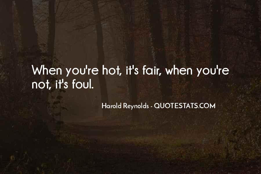 Harold Reynolds Quotes #1129809