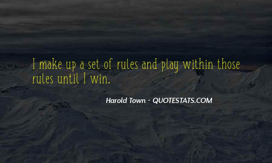 Harold Town Quotes #1194583