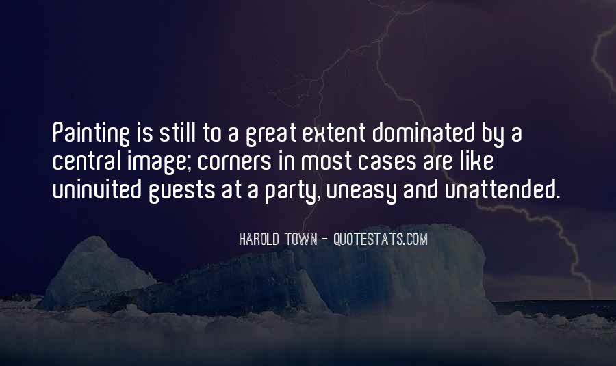 Harold Town Quotes #1423812