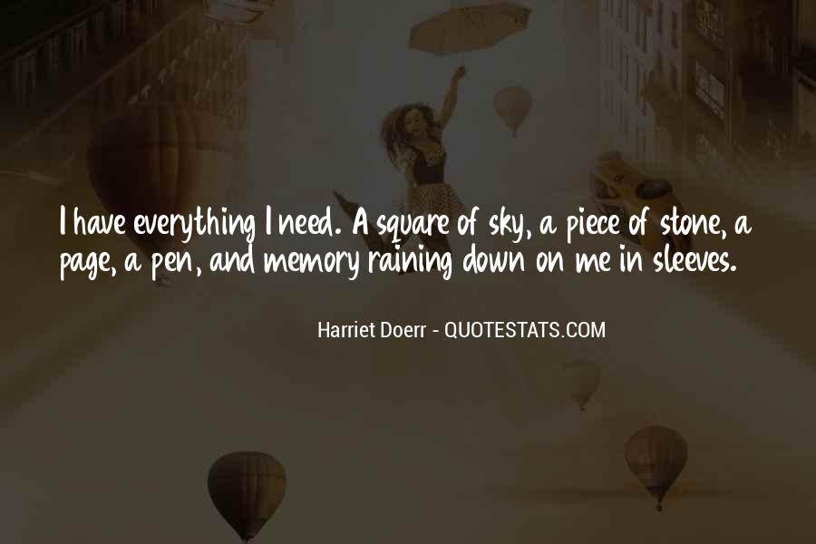 Harriet Doerr Quotes #1630953