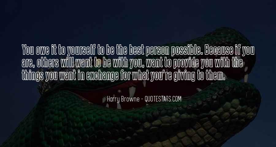 Harry Browne Quotes #1403433
