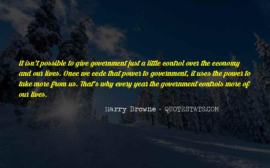 Harry Browne Quotes #1423464