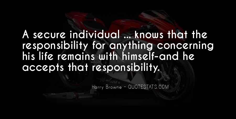 Harry Browne Quotes #290449