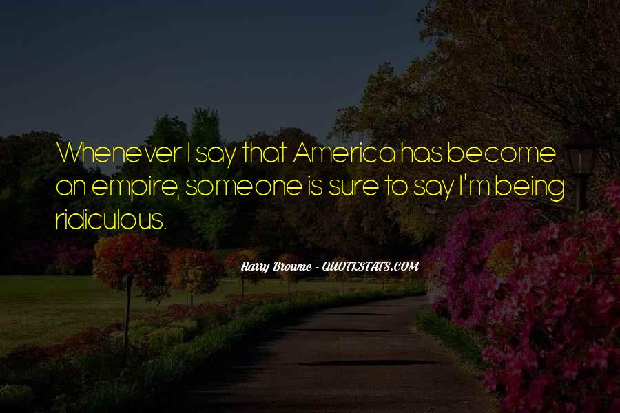 Harry Browne Quotes #509912
