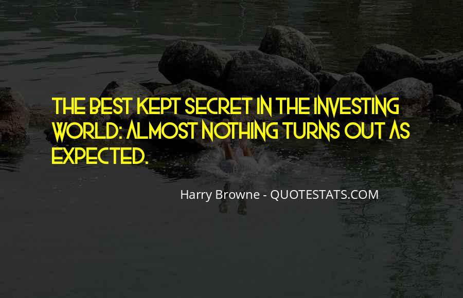 Harry Browne Quotes #697364