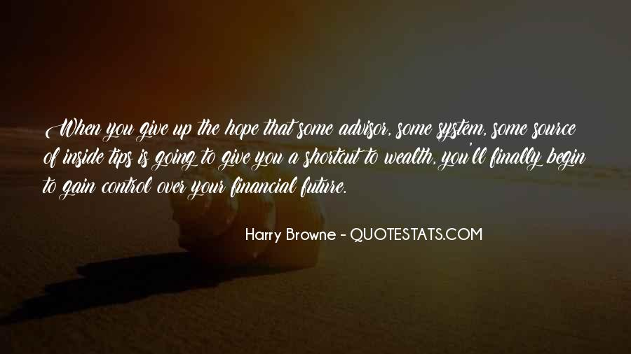 Harry Browne Quotes #992729