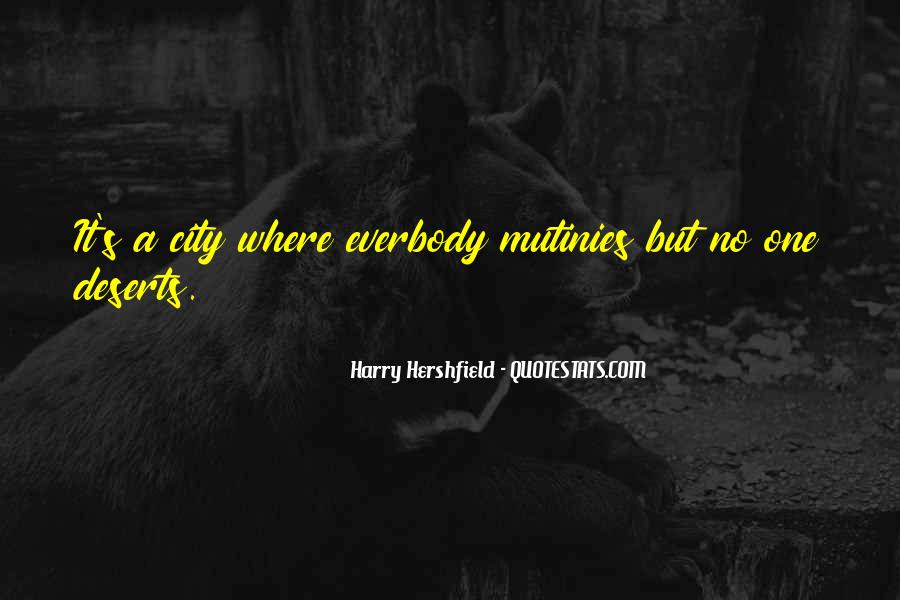 Harry Hershfield Quotes #1174388