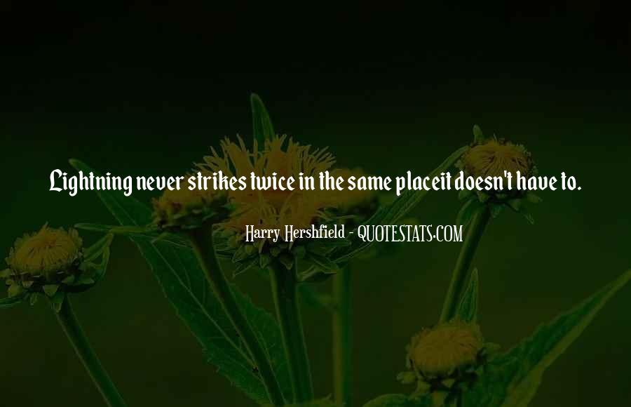 Harry Hershfield Quotes #791781