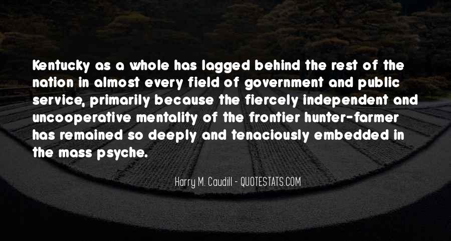 Harry M. Caudill Quotes #1221762
