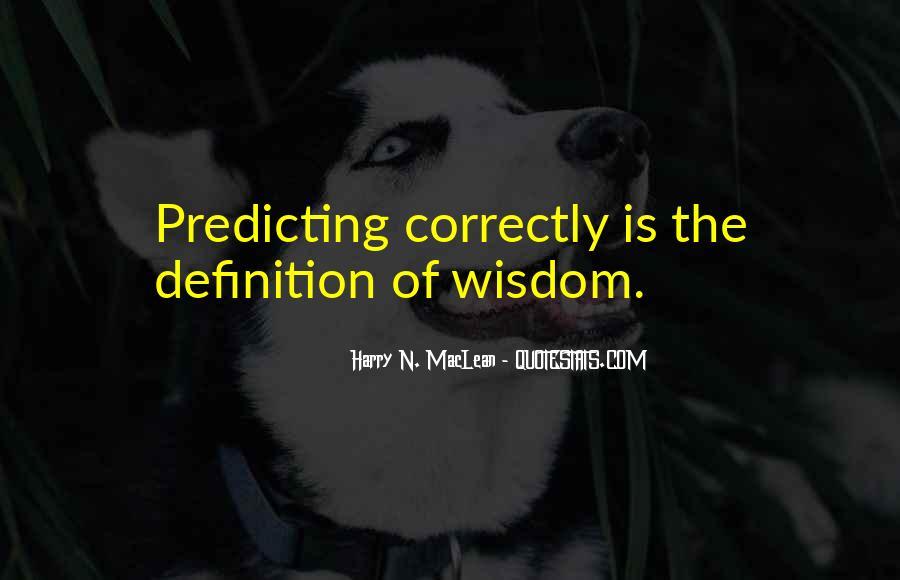 Harry N. MacLean Quotes #797147