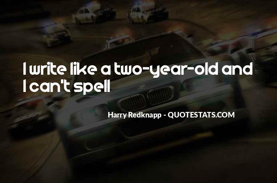 Harry Redknapp Quotes #1240636
