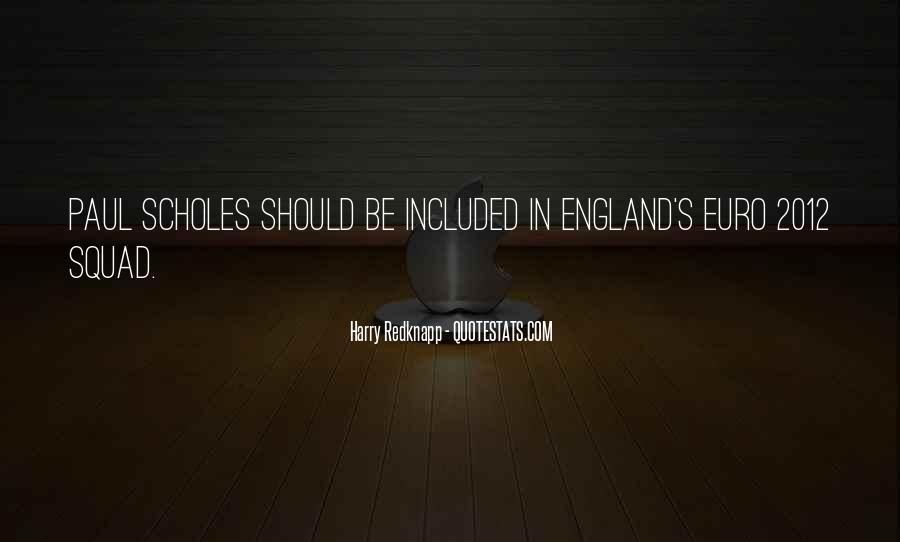 Harry Redknapp Quotes #1760914