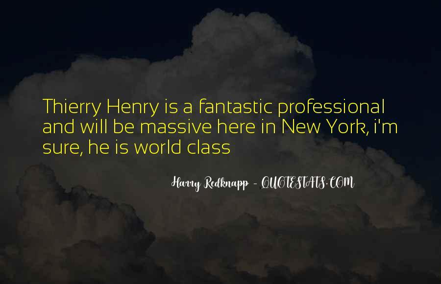 Harry Redknapp Quotes #1851011