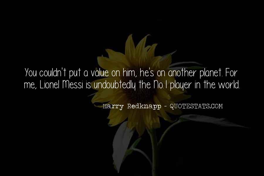 Harry Redknapp Quotes #212998