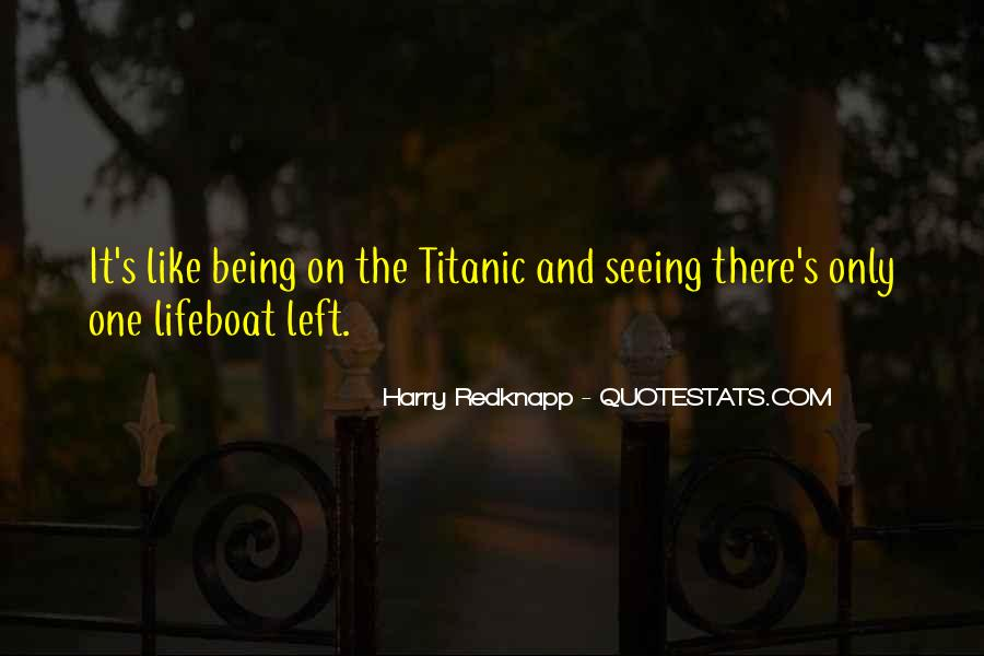 Harry Redknapp Quotes #306453