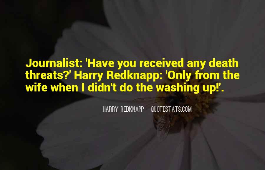 Harry Redknapp Quotes #632185
