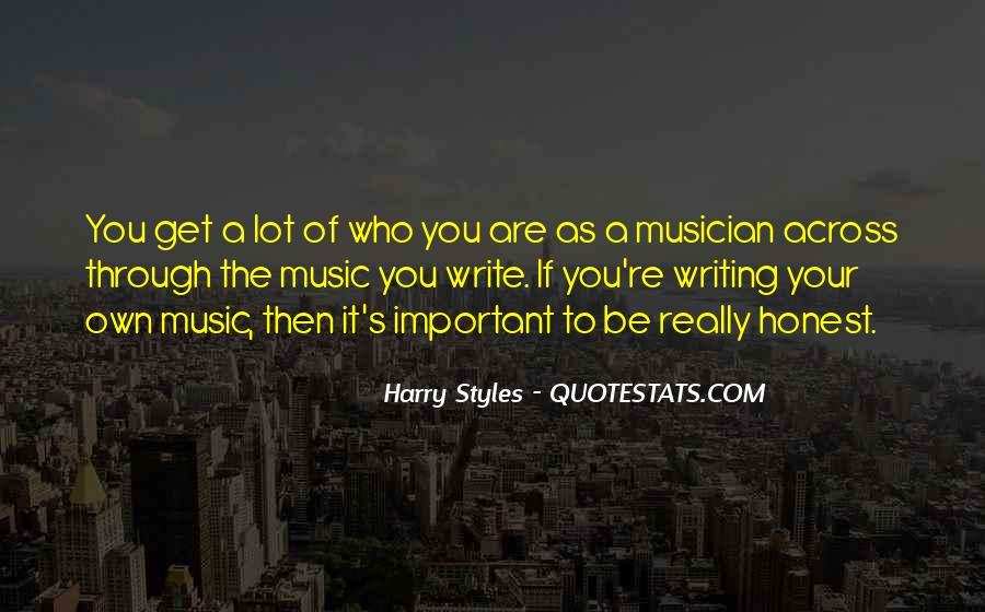 Harry Styles Quotes #106680