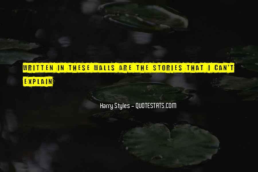 Harry Styles Quotes #1864722
