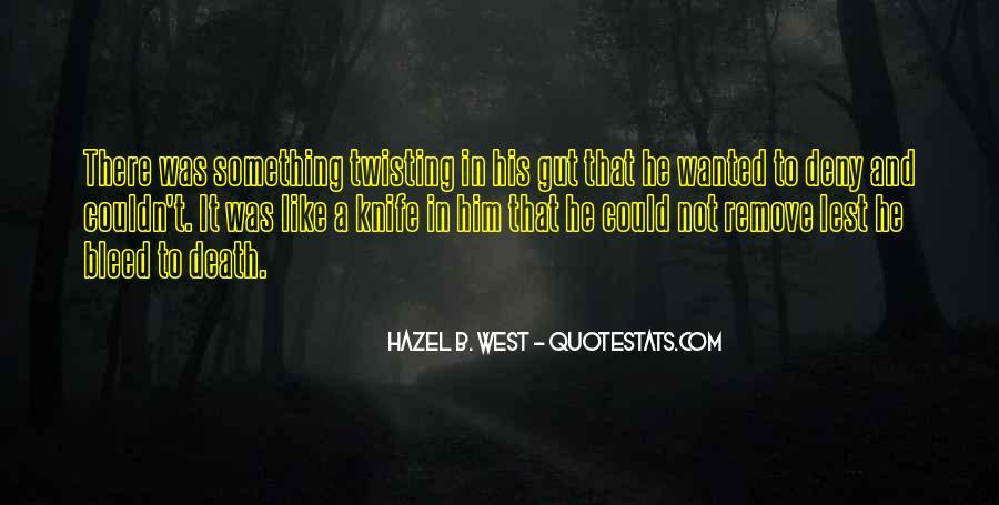 Hazel B. West Quotes #994978