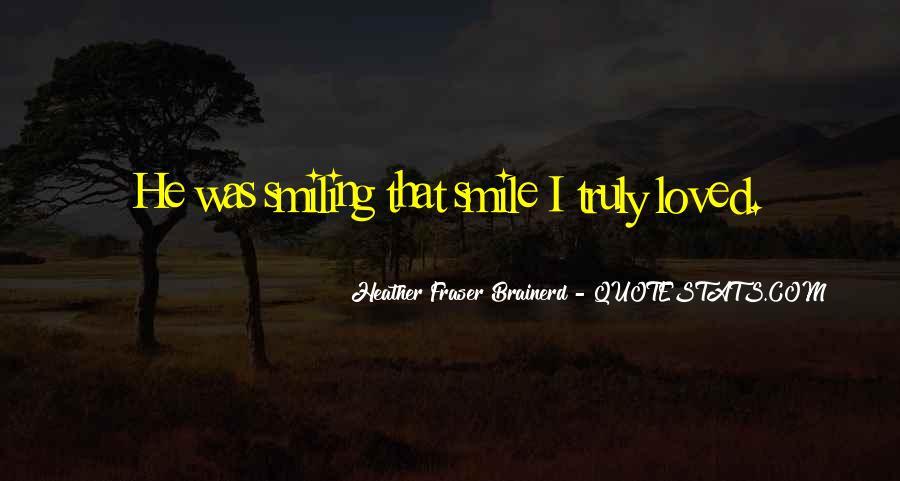 Heather Fraser Brainerd Quotes #543891