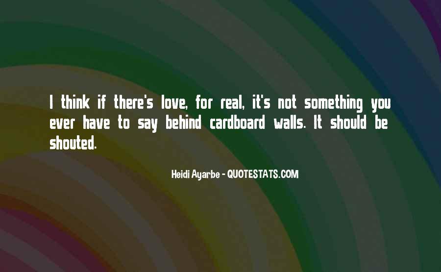 Heidi Ayarbe Quotes #249900