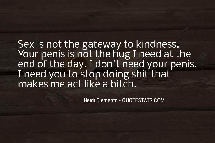Heidi Clements Quotes #655403