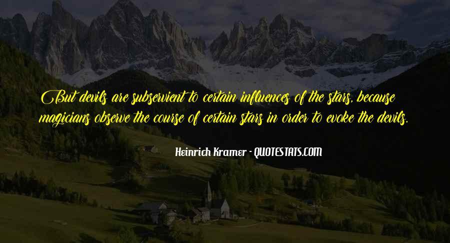 Heinrich Kramer Quotes #1830928