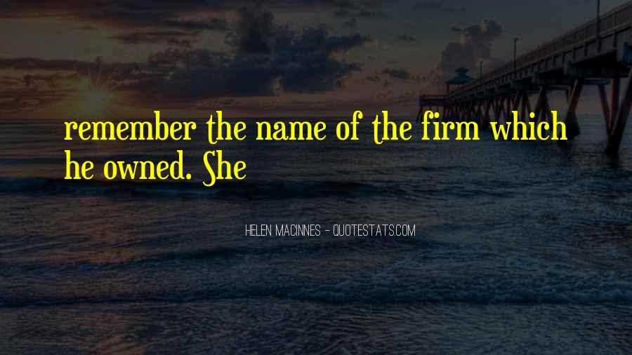 Helen MacInnes Quotes #429563