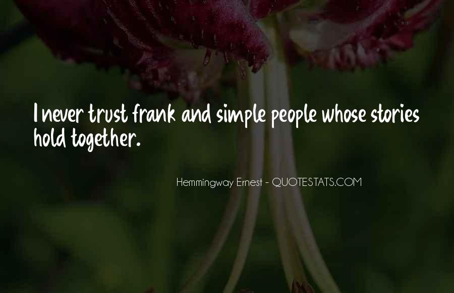 Hemmingway Ernest Quotes #1496618
