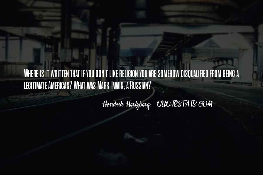 Hendrik Hertzberg Quotes #123699