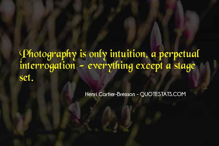 Henri Cartier-Bresson Quotes #1019851