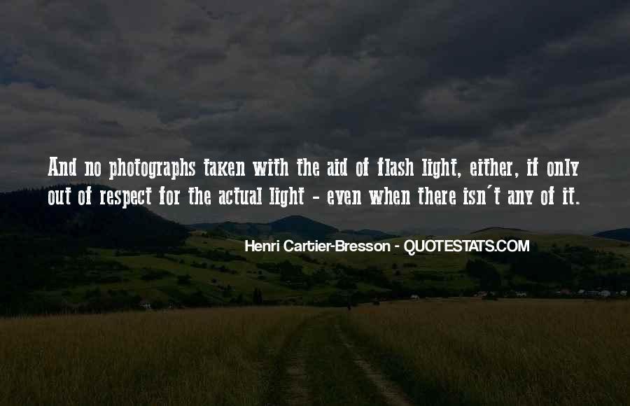 Henri Cartier-Bresson Quotes #1121984