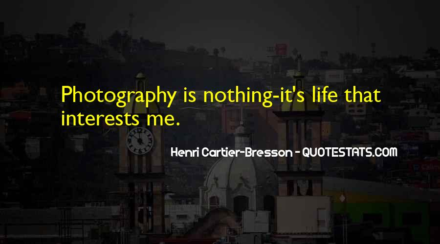 Henri Cartier-Bresson Quotes #115287