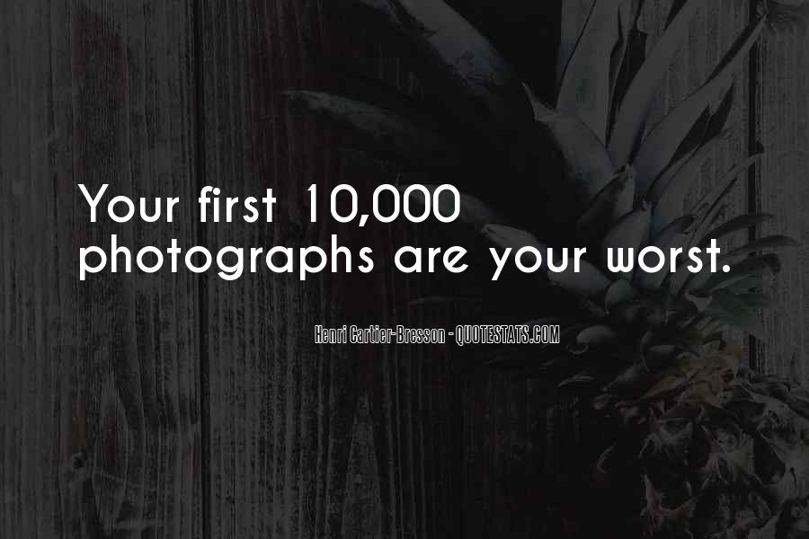 Henri Cartier-Bresson Quotes #138210