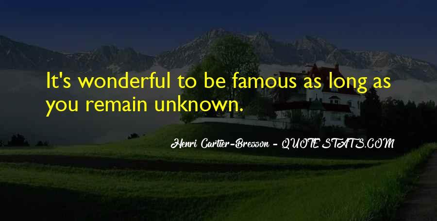 Henri Cartier-Bresson Quotes #1385149