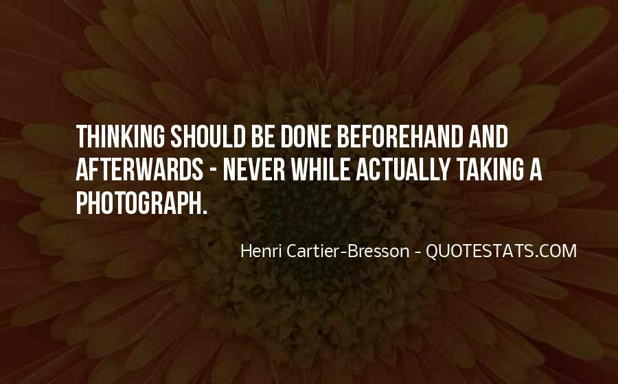 Henri Cartier-Bresson Quotes #1759188