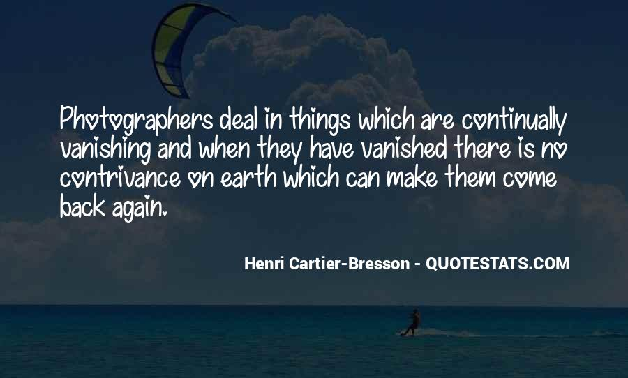 Henri Cartier-Bresson Quotes #270270