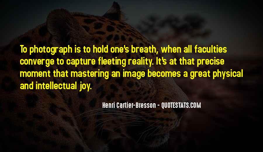 Henri Cartier-Bresson Quotes #323305