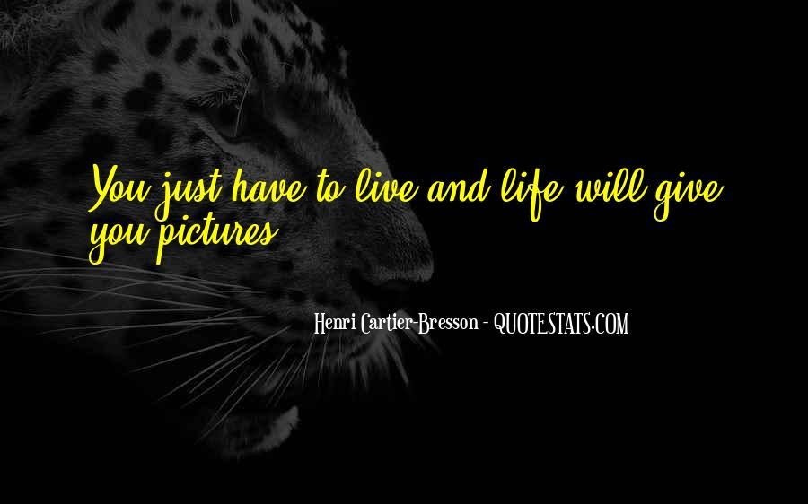 Henri Cartier-Bresson Quotes #406743