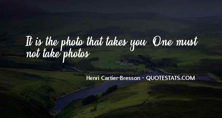 Henri Cartier-Bresson Quotes #498882