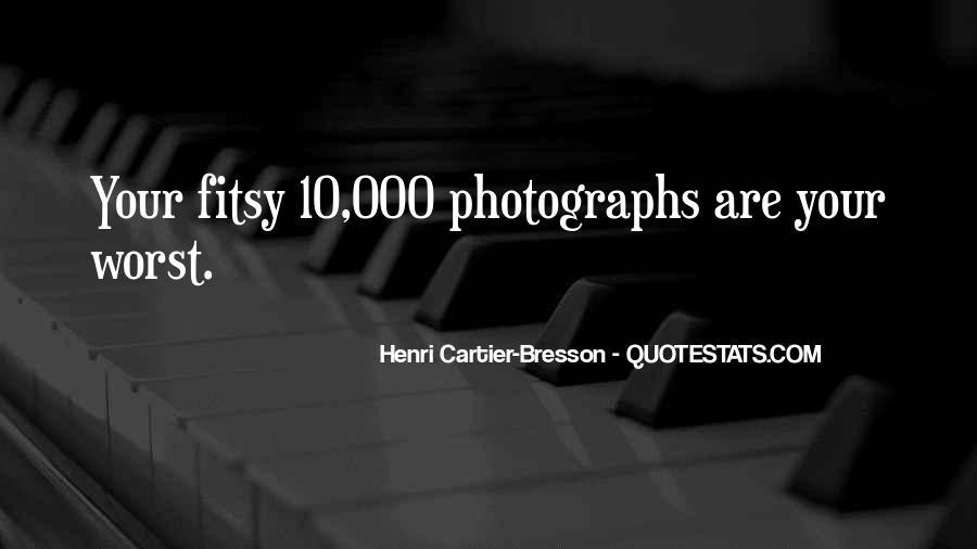 Henri Cartier-Bresson Quotes #541854