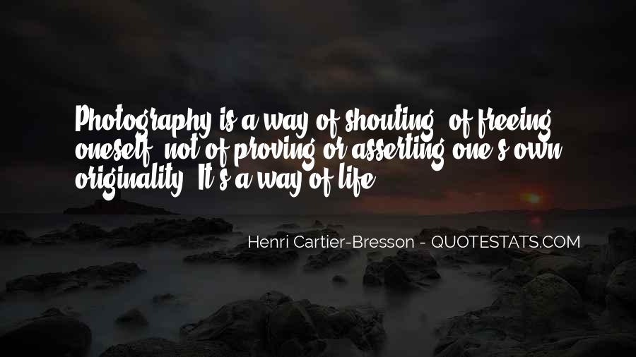 Henri Cartier-Bresson Quotes #551048