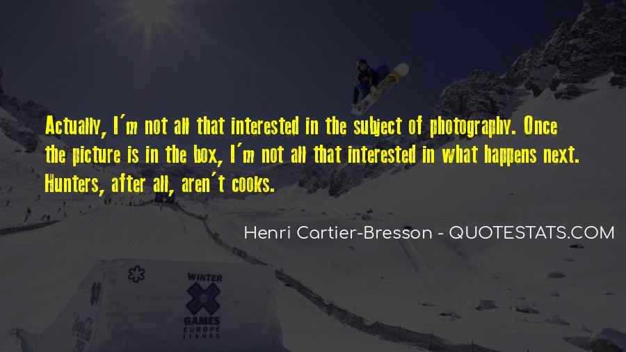 Henri Cartier-Bresson Quotes #642375